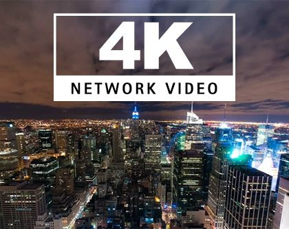 AXIS 4K Ultra HD Network Cameras