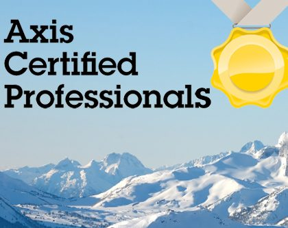 AXIS Certified Professional Technicians