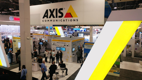 AXIS Communications At International Security Conference West 2018
