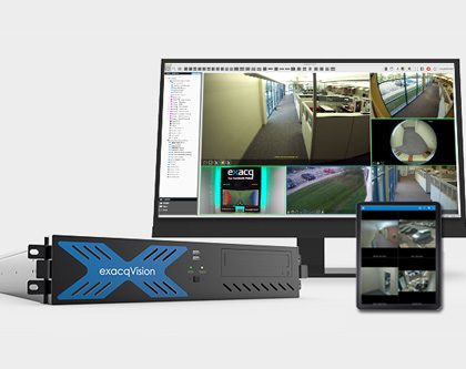 exacqVision Video Surveillance Hardware & Software Products