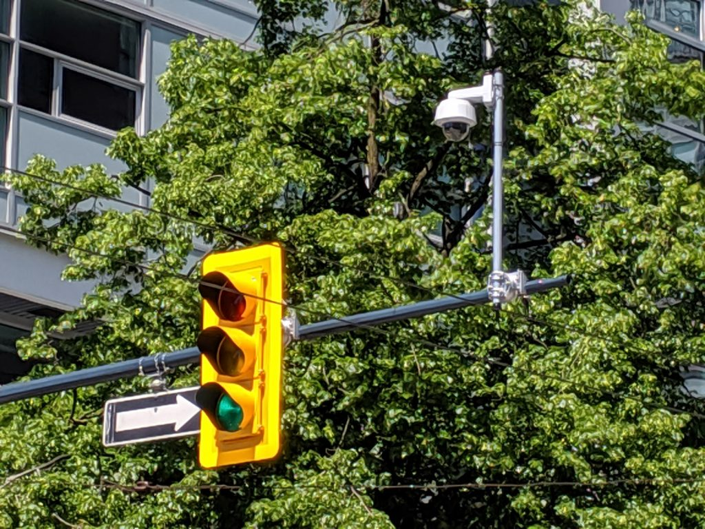 Traffic Camera Vancouver BC Canada