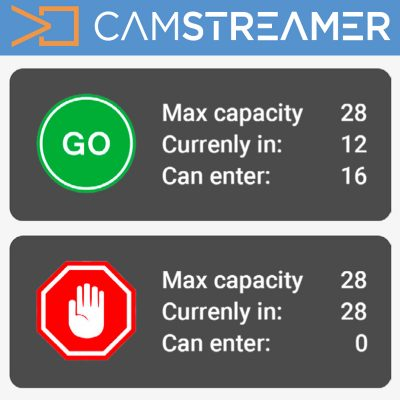 Camstreamer Store Occupancy Manager